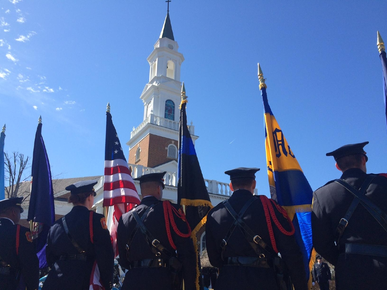 news nation world funeral held fallen prince william county officer